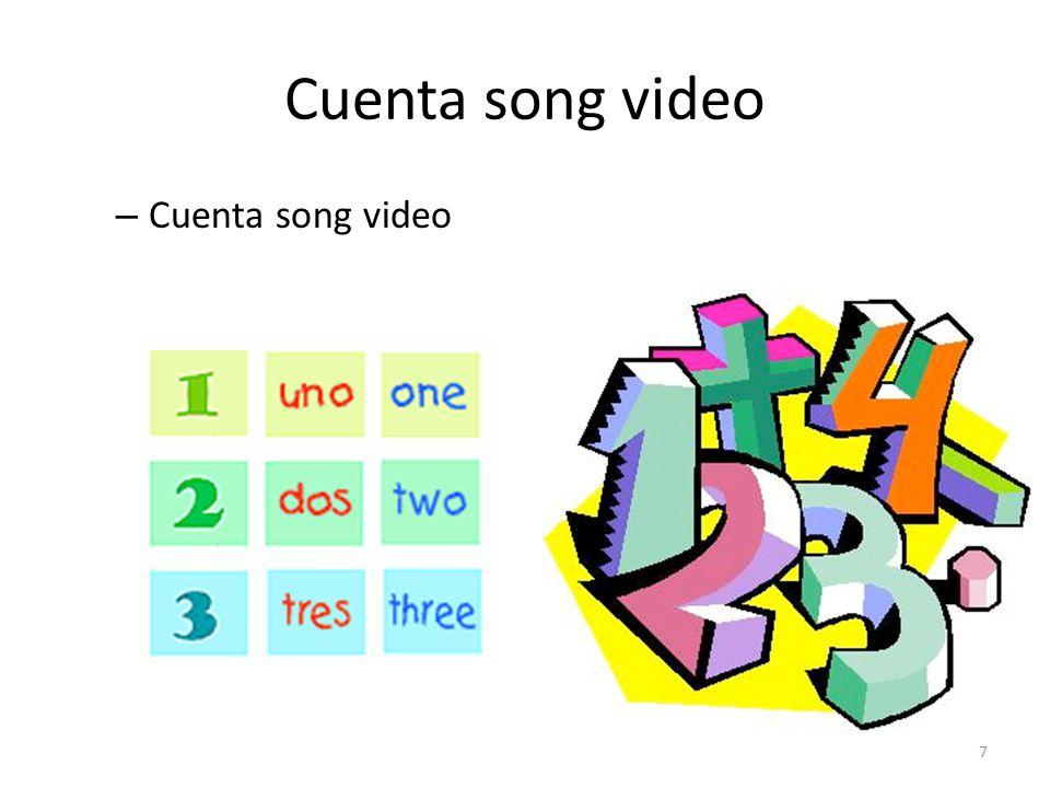 Cuenta song video – Cuenta song video 7