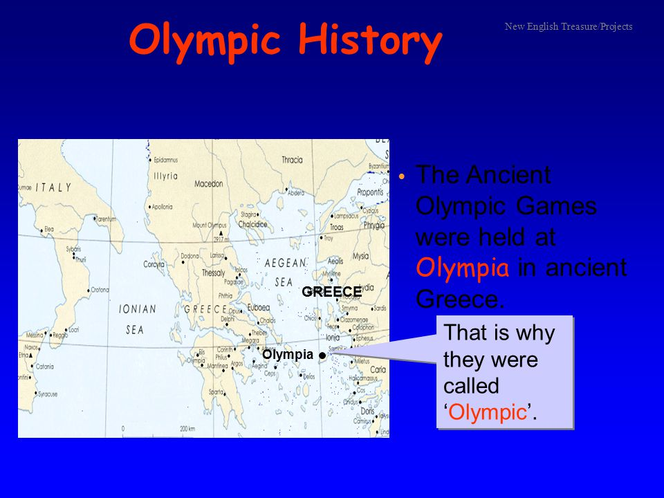 Brief History of the Olympics 776 BC, Olympia in Greece 393 AD 1896, Athens in Greece ancient Olympics modern Olympics