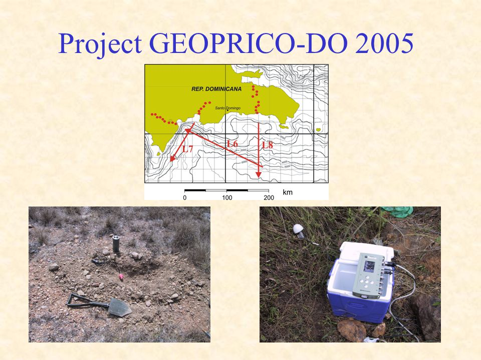 Project GEOPRICO-DO 2005
