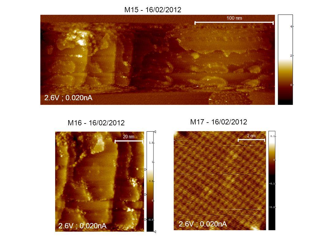 M15 - 16/02/2012 M16 - 16/02/2012 M17 - 16/02/2012 2.6V ; 0.020nA