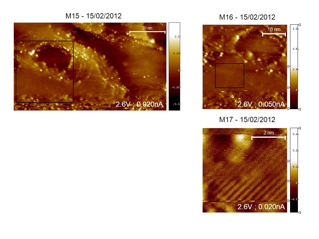 M15 - 15/02/2012 M16 - 15/02/2012 M17 - 15/02/2012 2.6V ; 0.020nA2.6V ; 0.050nA 2.6V ; 0.020nA