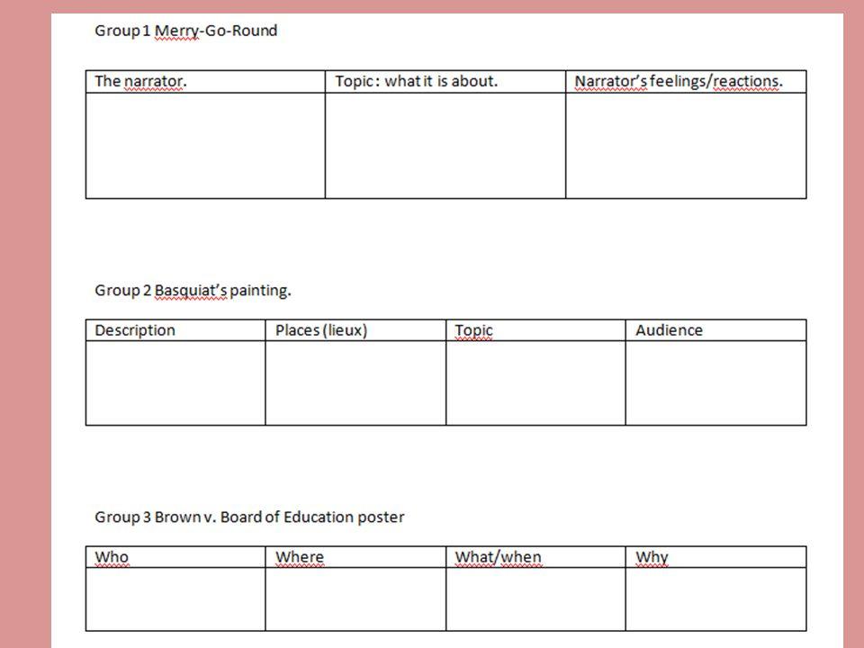 Brown vs.Board of Education : segregation outlawed .