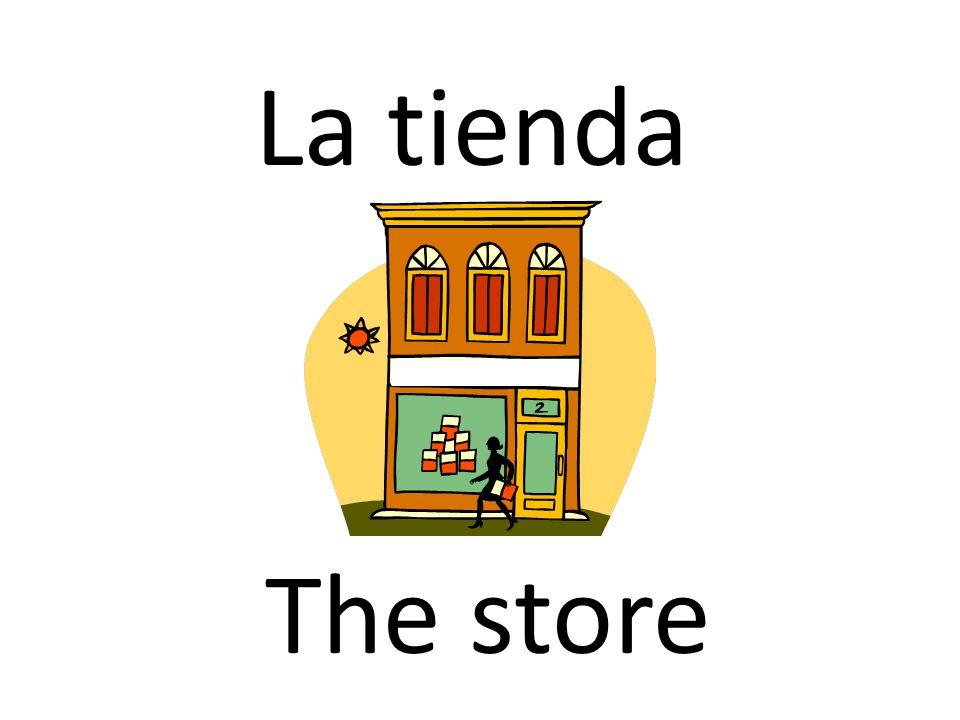 La tienda The store