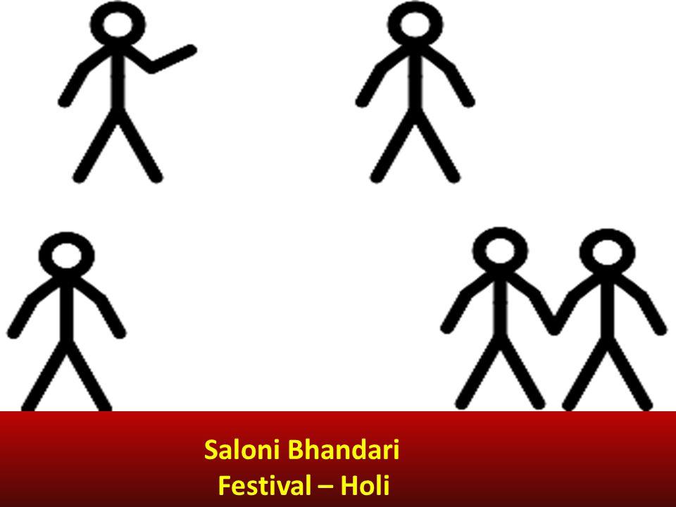 Saloni Bhandari Festival – Holi