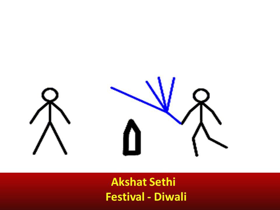 Akshat Sethi Festival - Diwali
