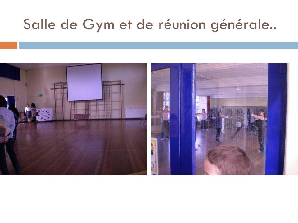 Salle de Gym et de réunion générale..