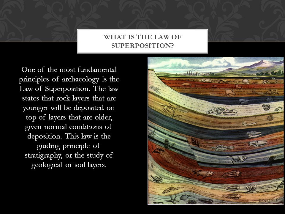 WHAT IS THE LAW OF SUPERPOSITION.