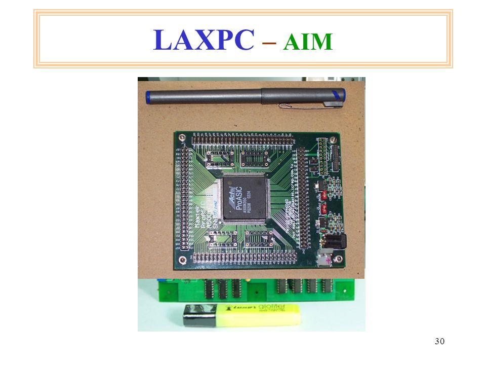 30 LAXPC – AIM