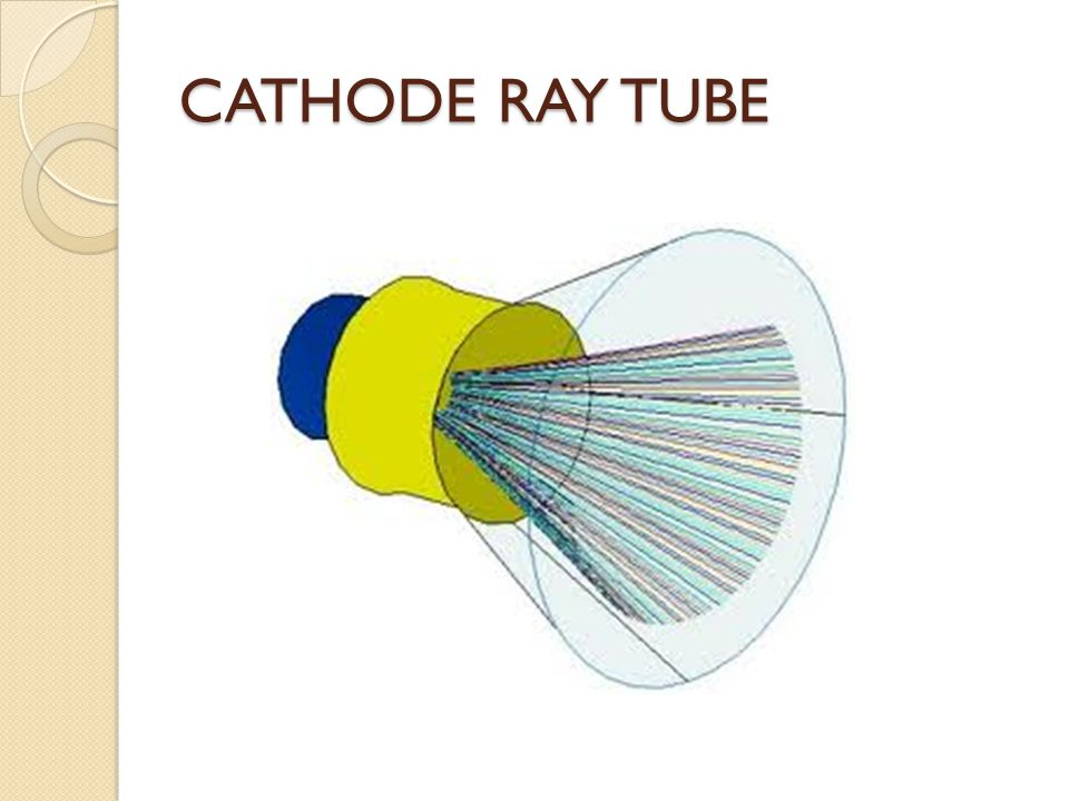 CATHODE RAY TUBE