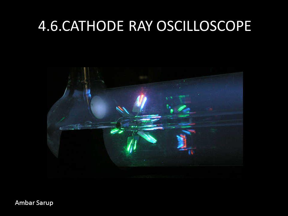 4.6.CATHODE RAY OSCILLOSCOPE Ambar Sarup