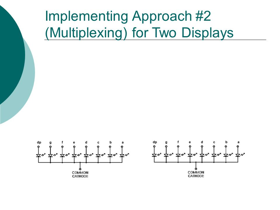 Implementing Approach #2 (Multiplexing) for Two Displays