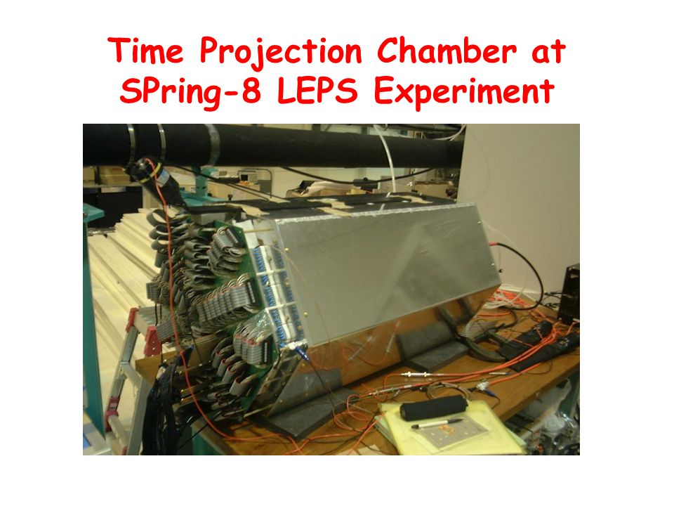Time Projection Chamber at SPring-8 LEPS Experiment