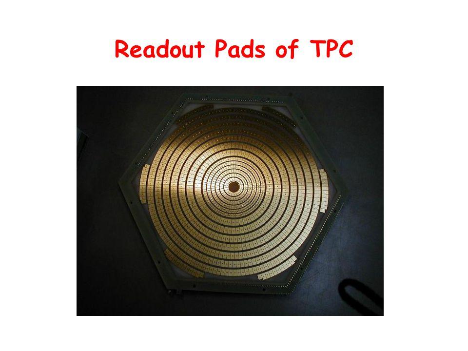 Readout Pads of TPC