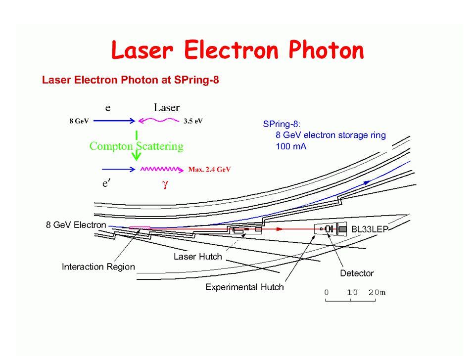 Laser Electron Photon