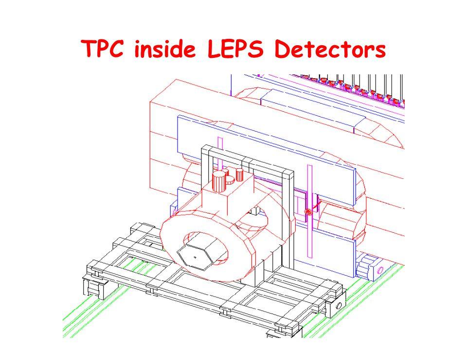 TPC inside LEPS Detectors