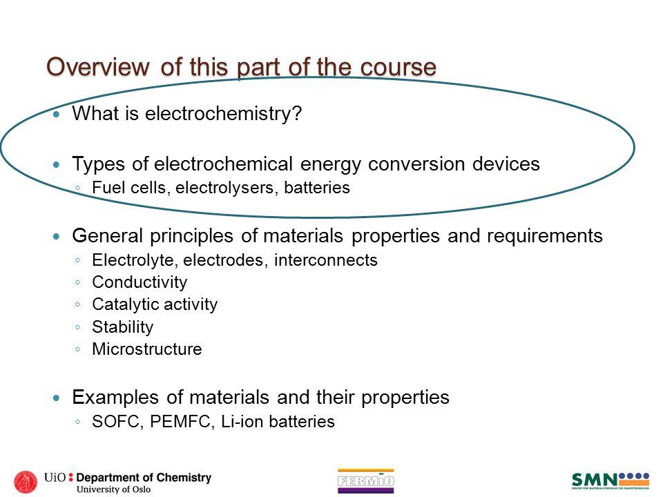 What is electrochemistry.