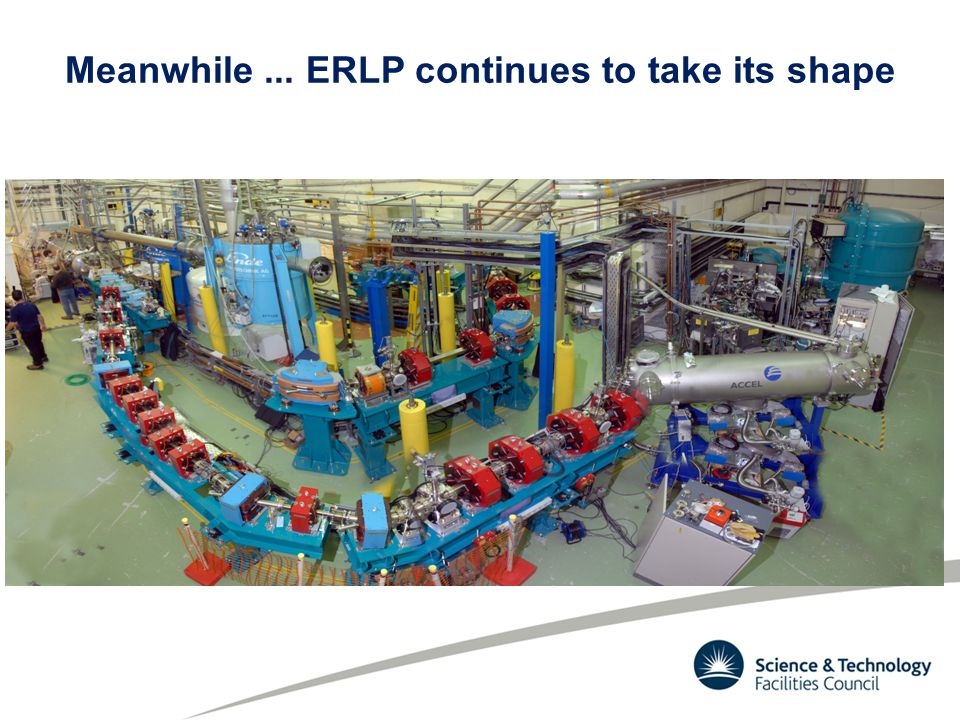 Meanwhile... ERLP continues to take its shape