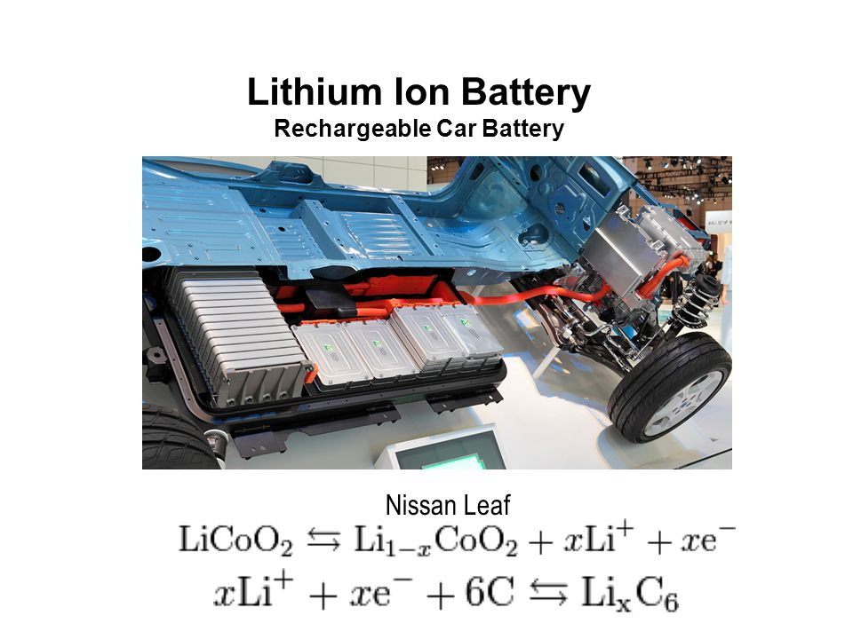 Lithium Ion Battery Rechargeable Car Battery Nissan Leaf
