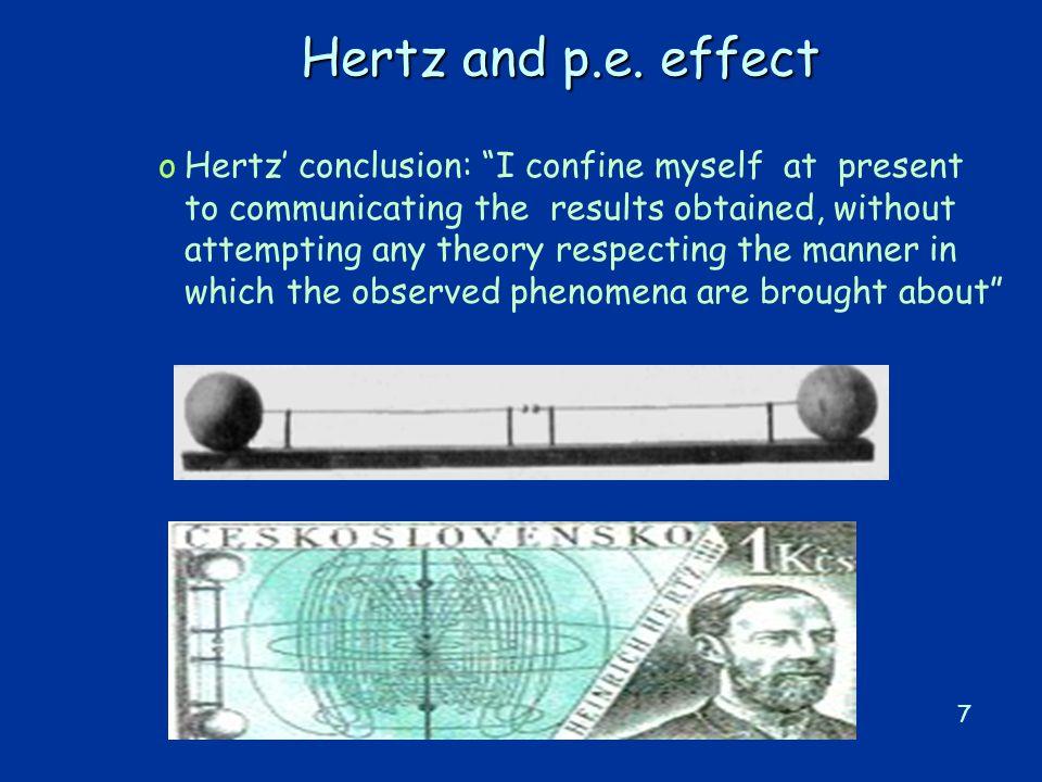 7 Hertz and p.e.