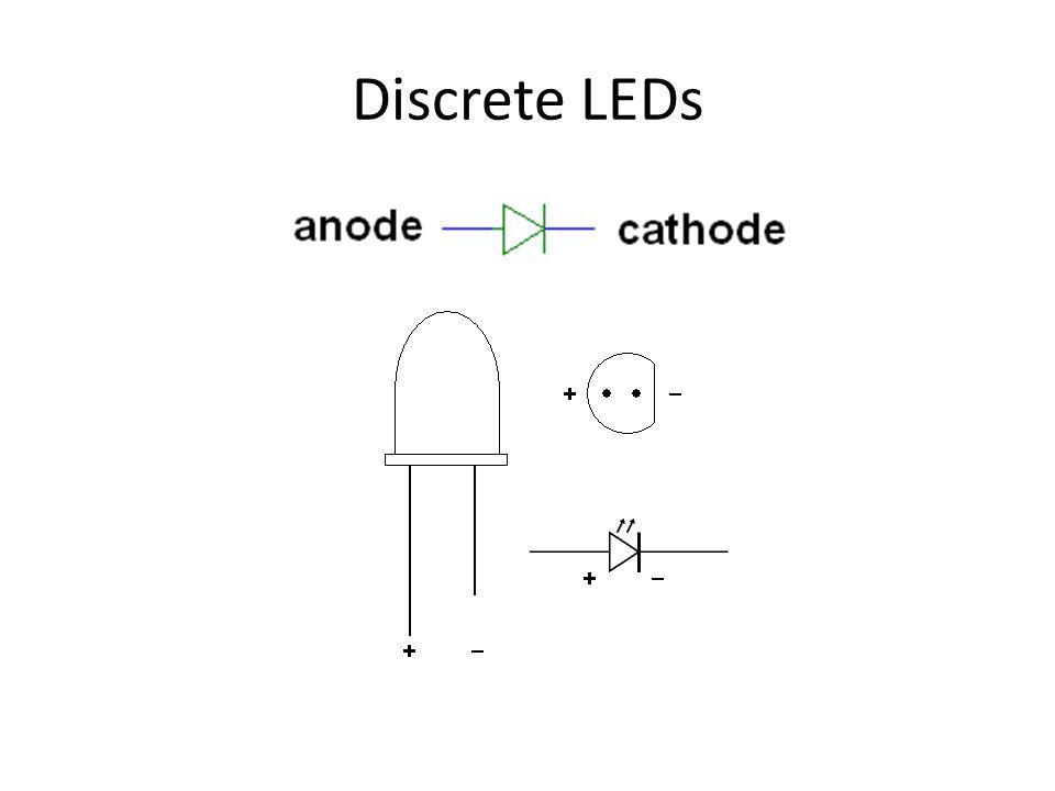 Discrete LEDs