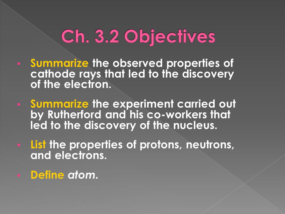 An atom is the smallest particle of an element that retains the chemical properties of that element.