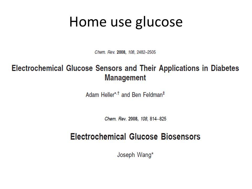 Home use glucose
