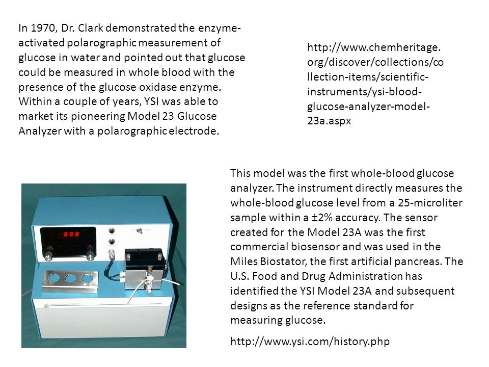 This model was the first whole-blood glucose analyzer.