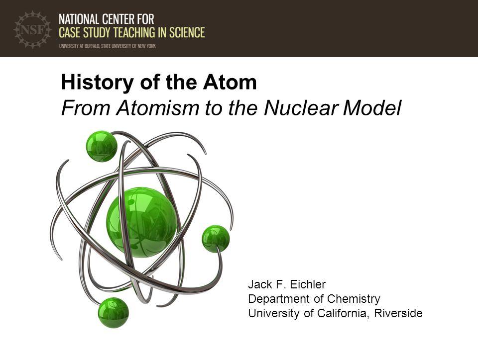 1.Where did the idea of atoms originate.