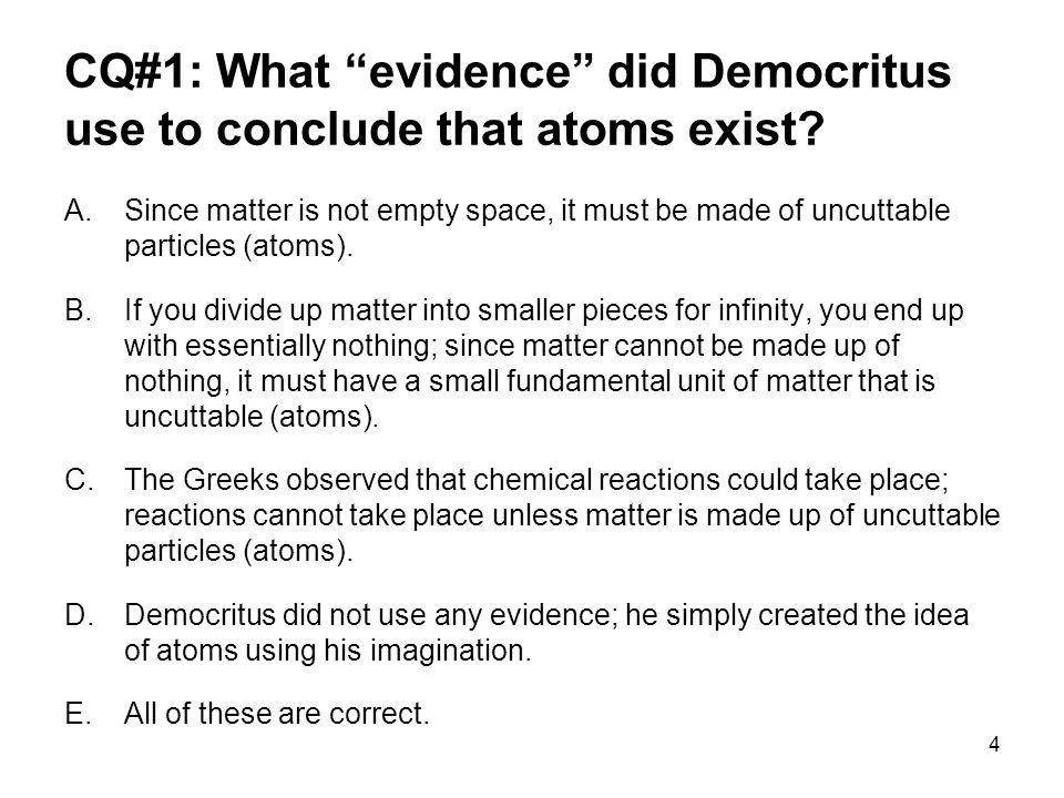 Democritus—Atomism 5