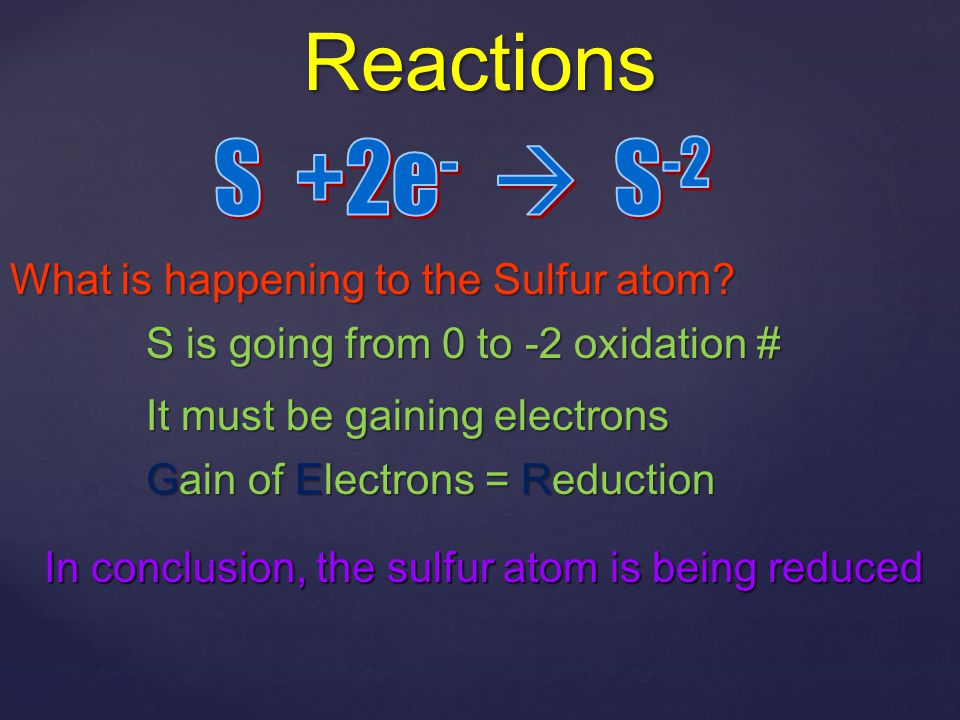 Oxidation Numbers - the charge an atom would have if the electrons belonged to the more EN atom - there are a few rules to help us out Na  Na 0 H2H2  H20H20 F2F2  F20F20