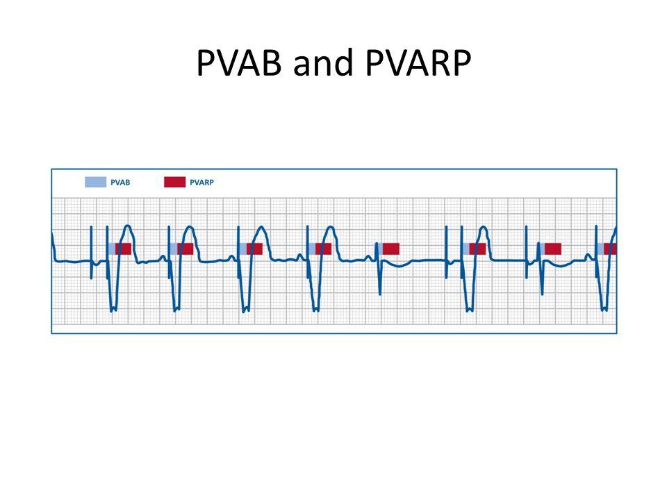 PVAB and PVARP