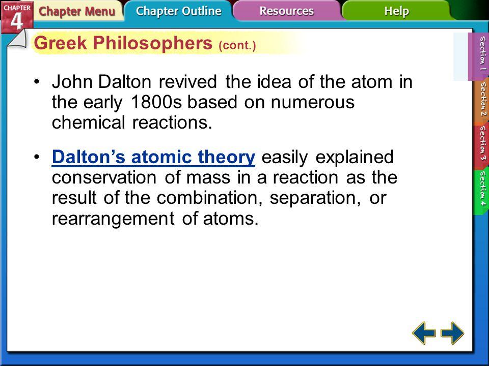 Section 4-1 Greek Philosophers (cont.)