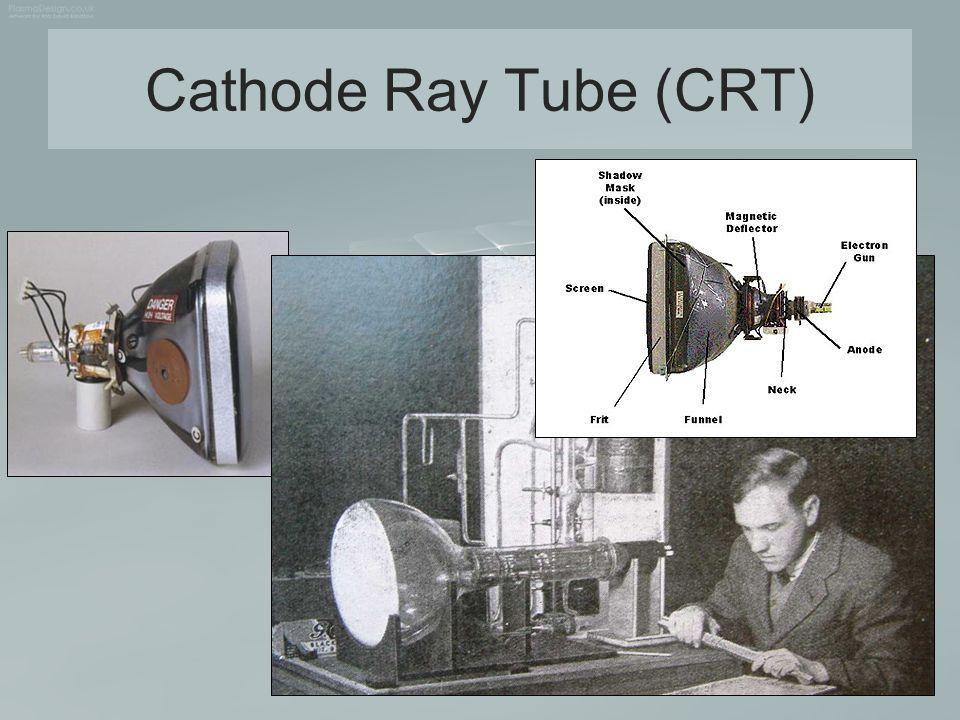 Basic design of a magnetic-deflection CRT