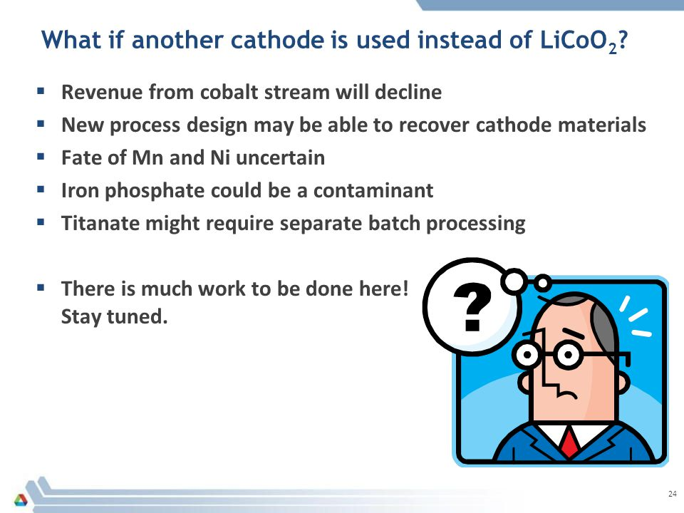 What if another cathode is used instead of LiCoO 2 .