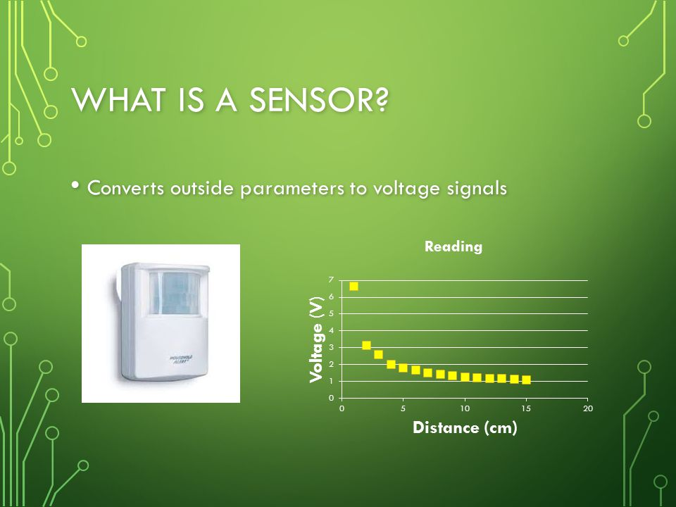 WHAT IS A SENSOR.