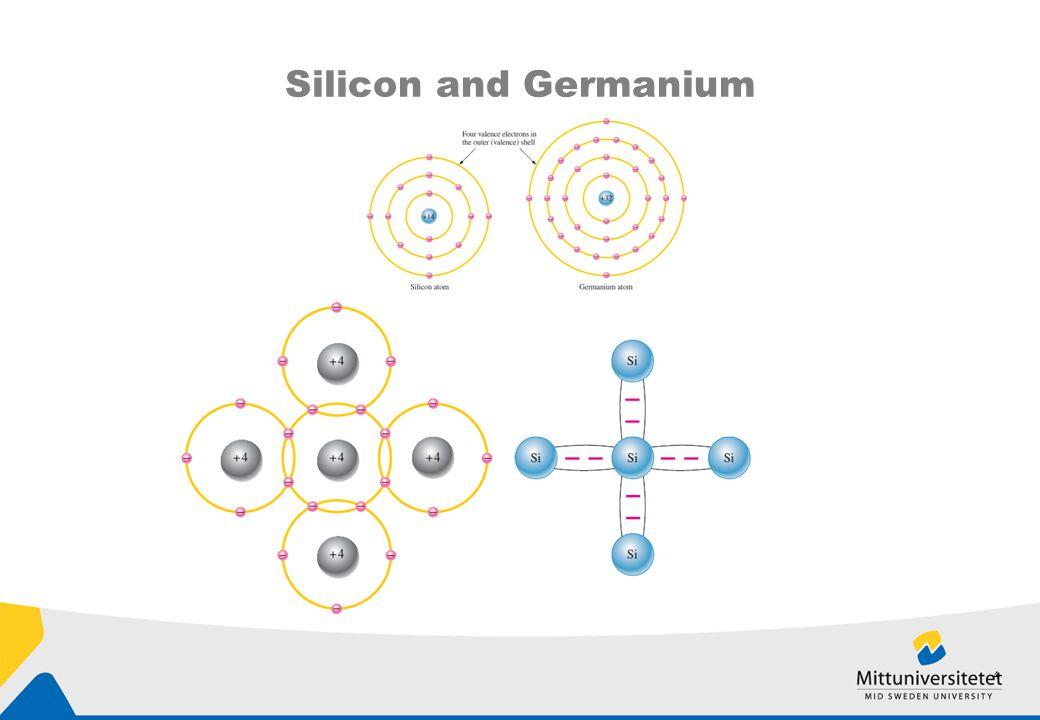 Silicon and Germanium 4