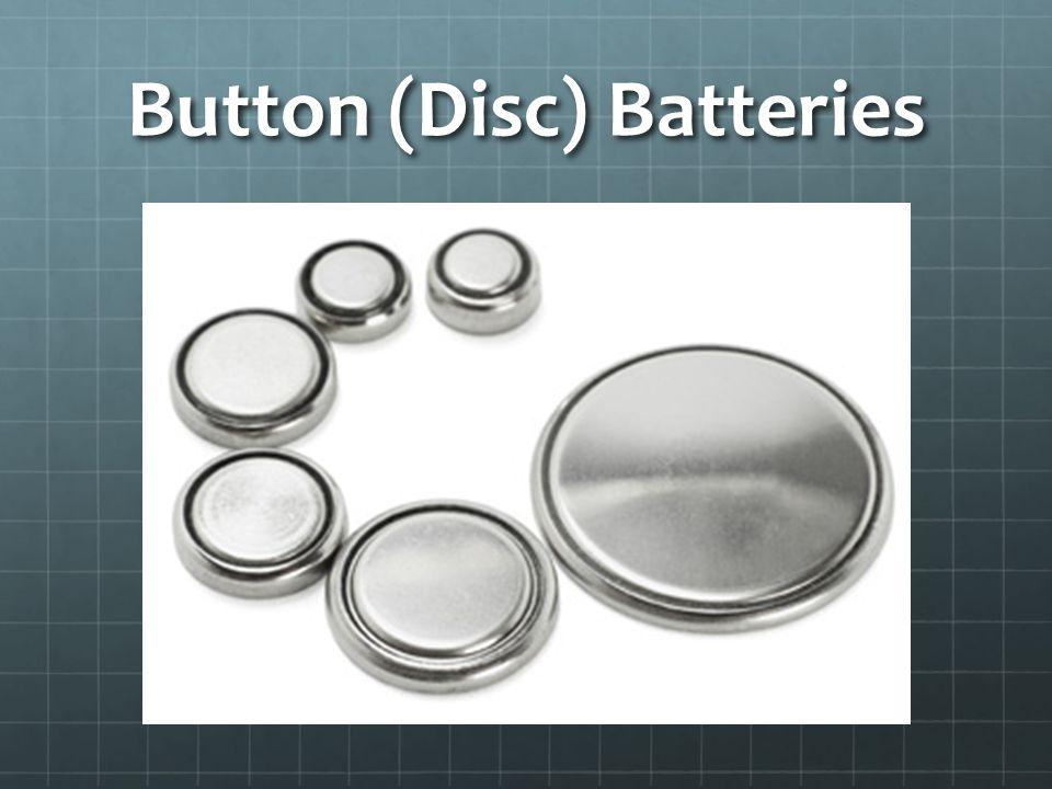 Button (Disc) Batteries