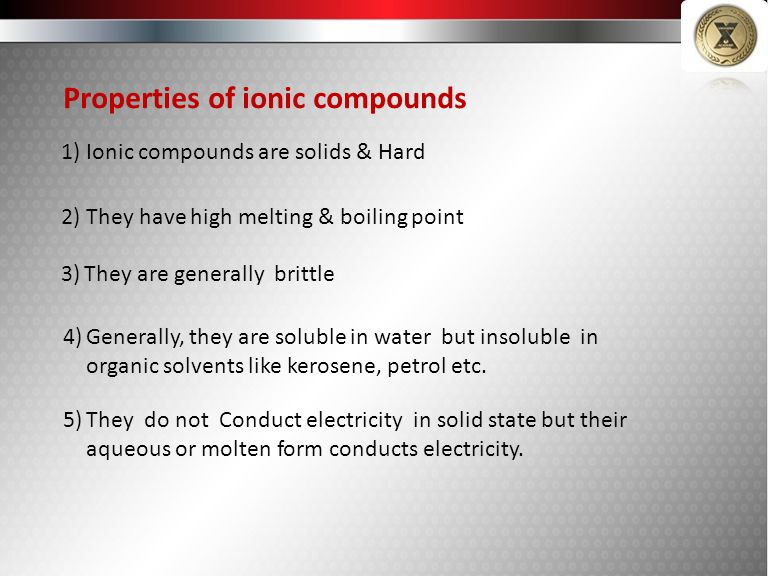 (non reactive Eg Au,Pt) (Reactive) Naturally Occurring Other impurities Minerals – The naturally Occurring compounds of metals alongwith other impurities are known as minerals.