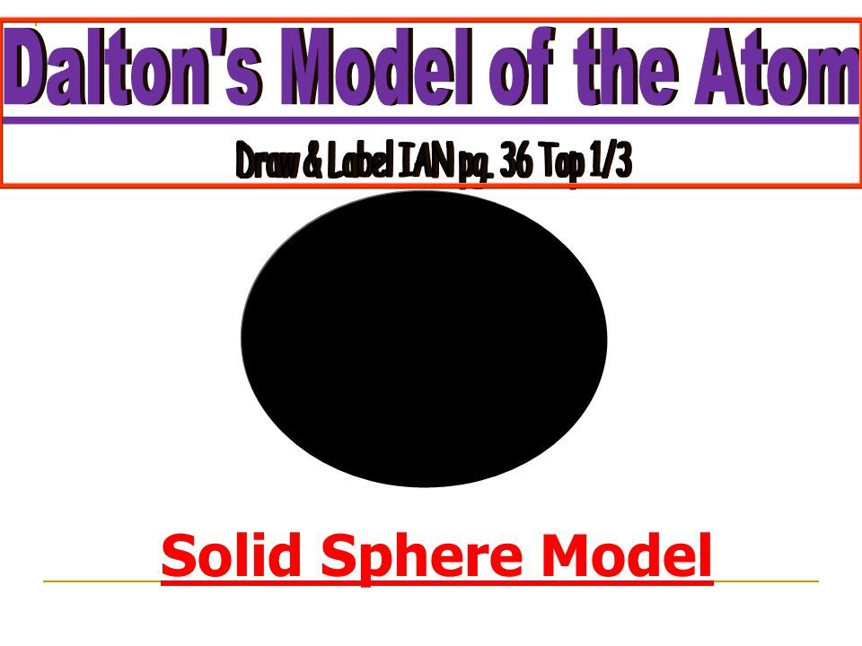 Solid Sphere Model