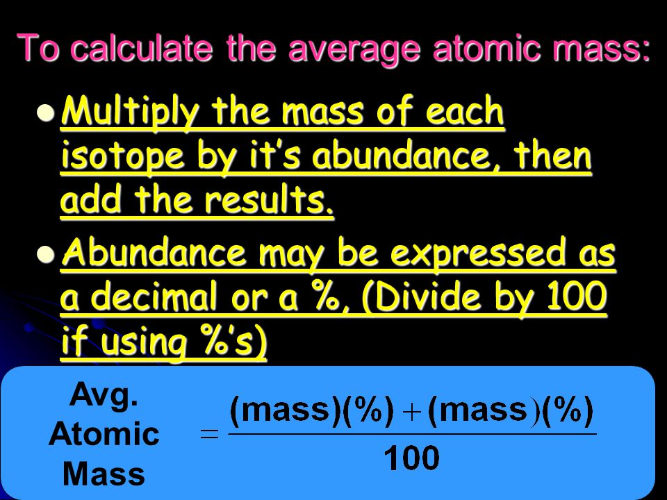 Measuring Atomic Mass Instead of grams, the unit we use is the Atomic Mass Unit (amu) Instead of grams, the unit we use is the Atomic Mass Unit (amu) It is defined as one-twelfth the mass of a carbon-12 atom.