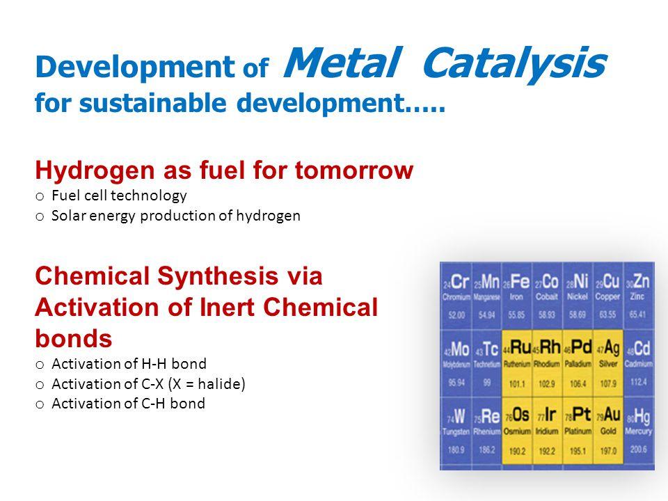 Hydrogen as fuel for tomorrow