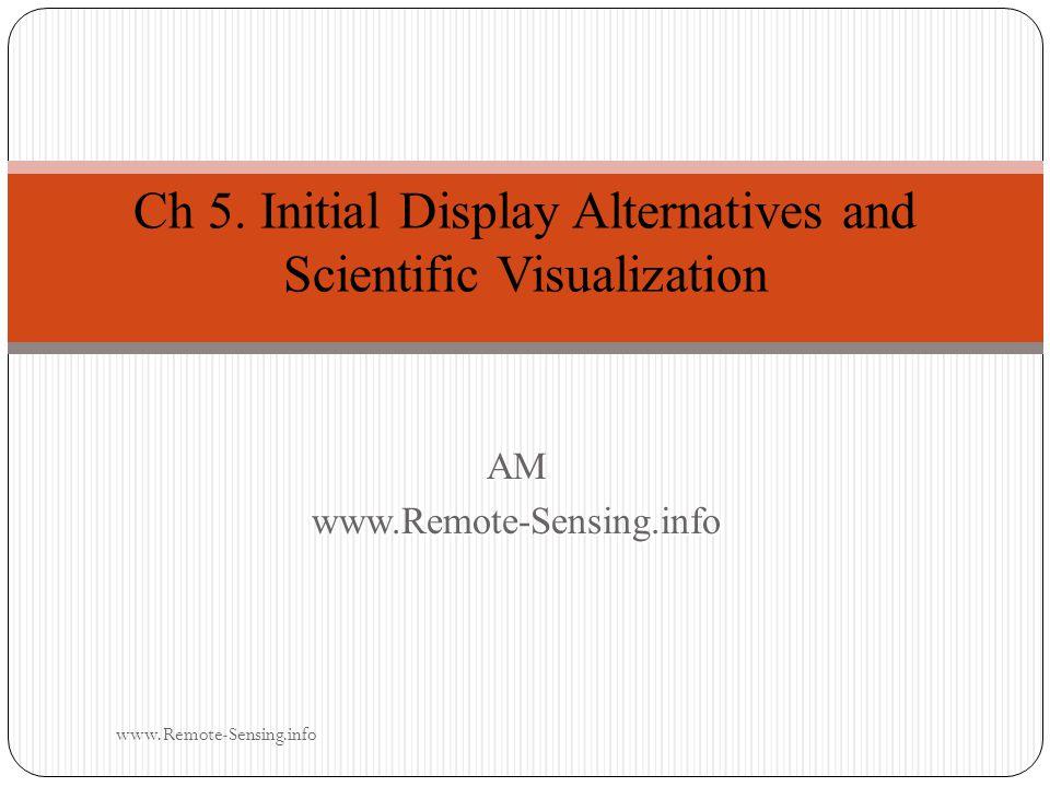 AMwww.Remote-Sensing.info Ch 5.