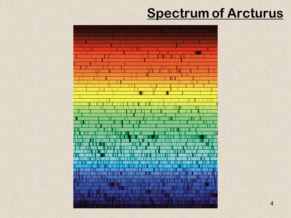4 Spectrum of Arcturus
