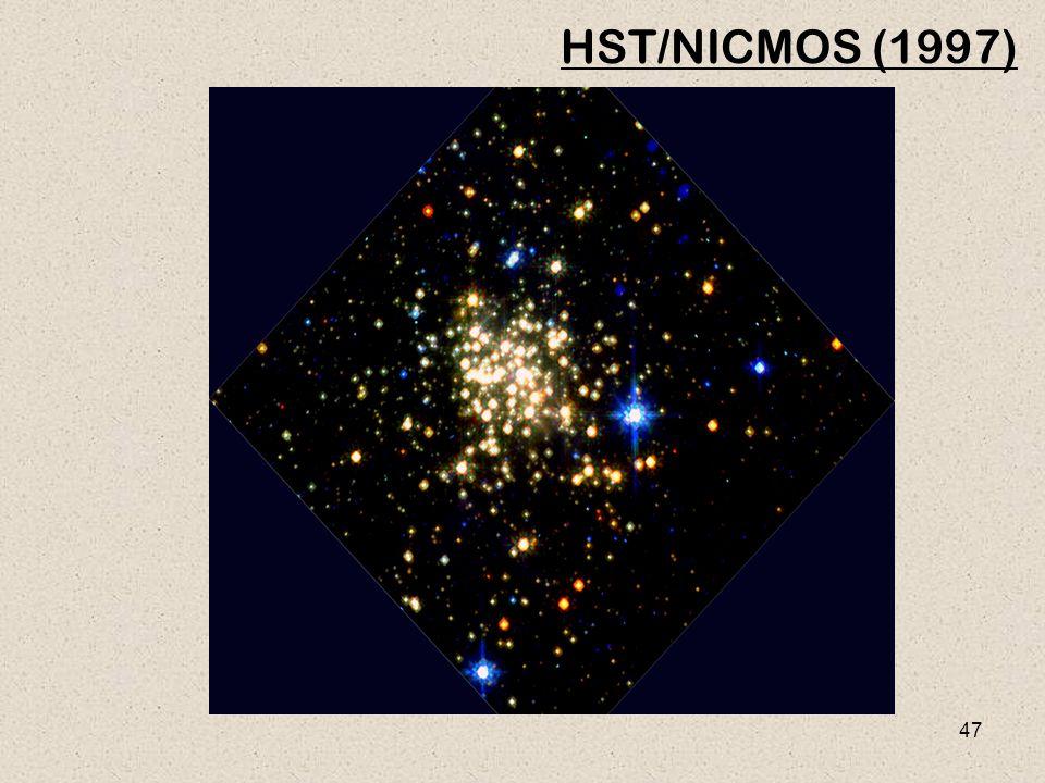 47 HST/NICMOS (1997)
