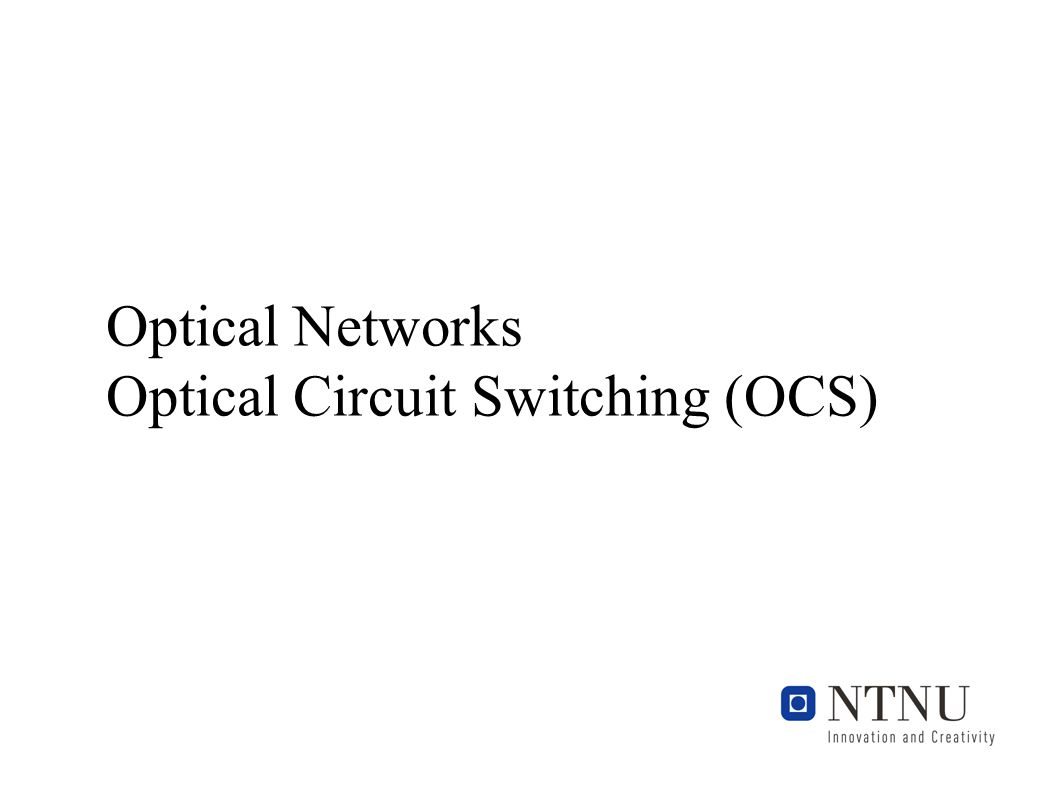 Cheyns: Optical packet switched...