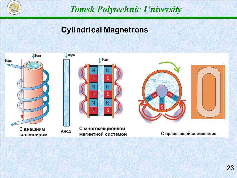 Cylindrical Magnetrons Tomsk Polytechnic University 2323
