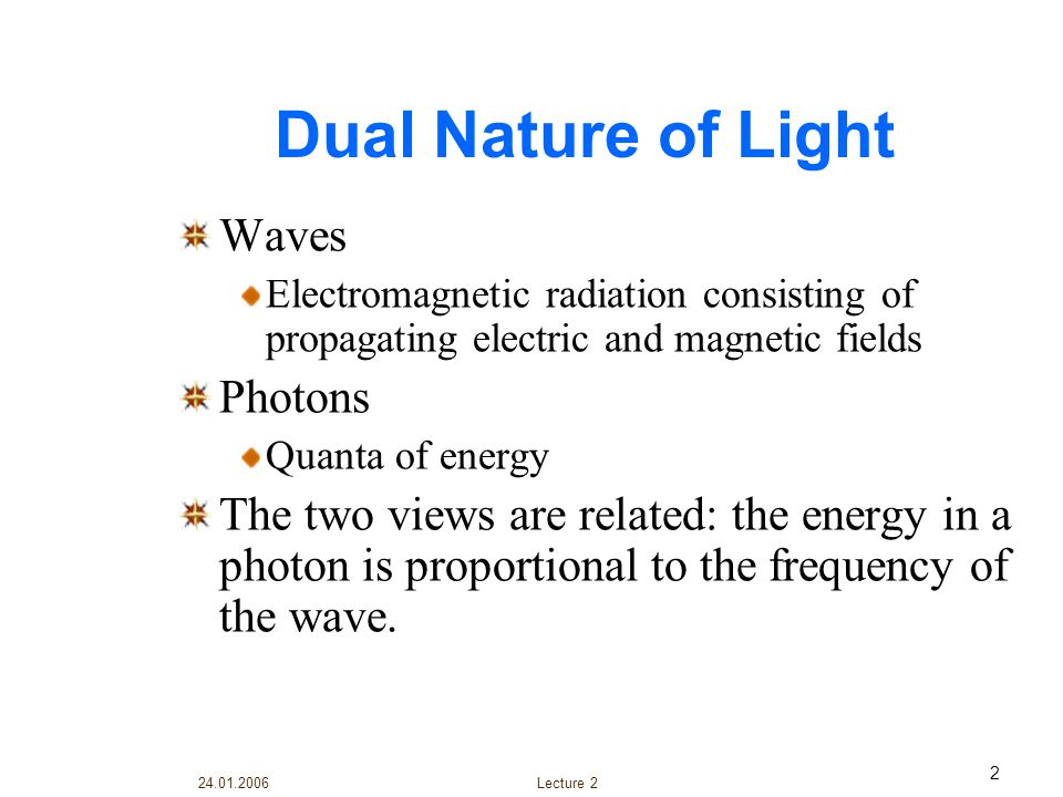 24.01.2006 Lecture 2 23 SCATTERING Basically, scattering losses are caused by the interaction of light with density fluctuations within a fiber.