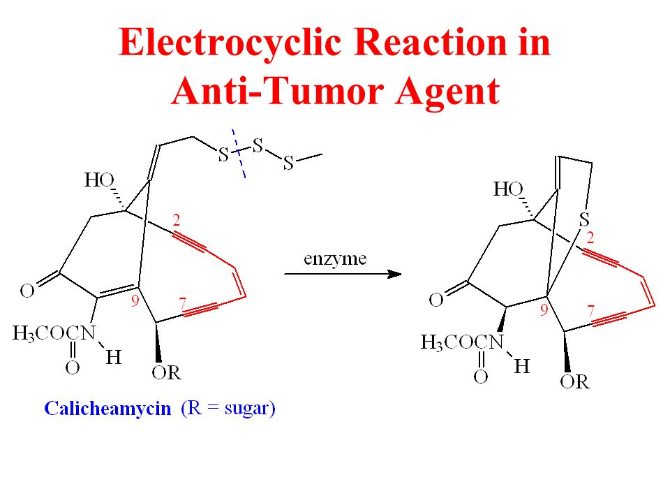 Electrocyclic Reaction in Anti-Tumor Agent