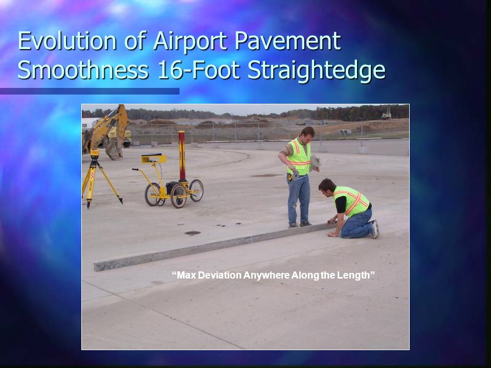 Case History: Evaluate the Design Using Aircraft Simulation Design Constraints can cause the Design to Produced Unacceptable Aircraft Response Design Constraints can cause the Design to Produced Unacceptable Aircraft Response – Midwest Runway, (built to design: unacceptable) – Middle East and Orange County CA : Correction made to the design.