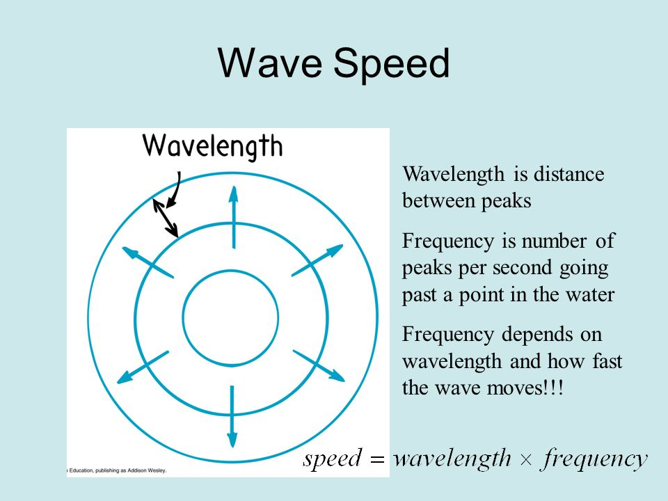 Characteristics of Waves Vocabulary terms: crest, trough, amplitude, wavelength, period, frequency, wave speed, Doppler effect